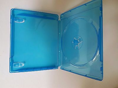 ($0 P & H) 5 Cases Blu Ray Single Case 14mm Quality Cases with logo