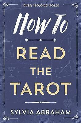 How to Read the Tarot by Sylvia Abraham (English) Paperback Book Free Shipping!