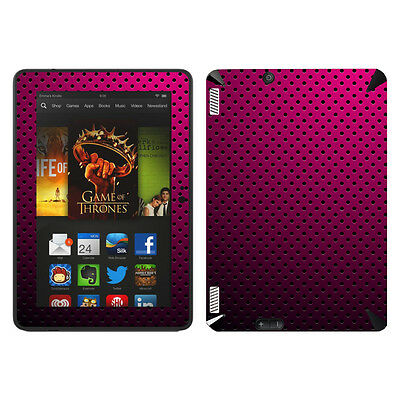 Disagu Skin für Amazon Kindle Fire HDX 7 LOCHBLECH OPTIK ... Aufkleber Sticker