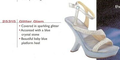 """Just The Right Shoe, """"GLITTER GLAM"""", Retired"""