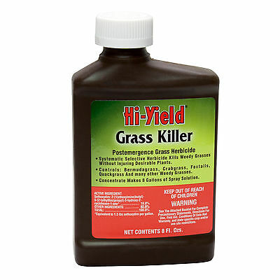Grass Killer Postemergence Herbicide Crabgrass Foxtails Bermudagrass Makes 8 Gls