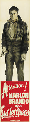 On the Waterfront Marlon Brando movie poster print 11