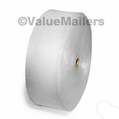 "Medium Bubble Rolls 5/16"" Bubble 12 inch wide x 400' Quality DB Perforated Wrap"