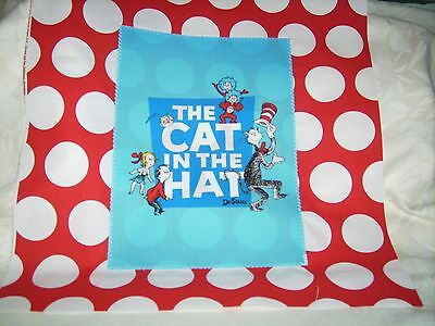"""Pillow COVER 16"""" Dr. Seuss Cat in the Hat book cover #2"""