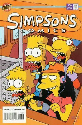 Bongo comics Simpsons 26 NM- FREE UK POST