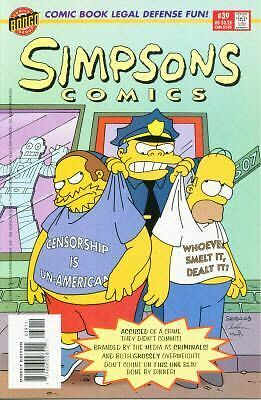 Bongo comics Simpsons 39 NM- HOMER FREE UK POST