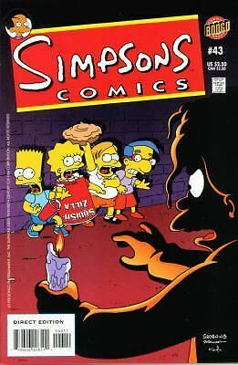 Bongo comics Simpsons 43 NM- FREE UK POST