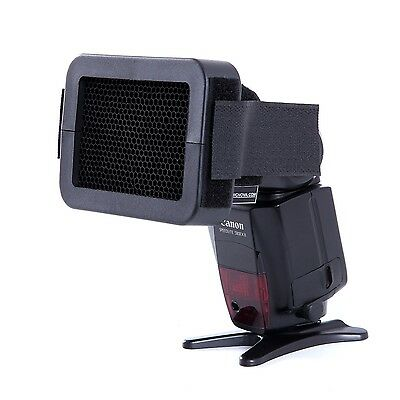 "Movo Photo SG14 1/4"" Honeycomb Quick Grid Universal Camera Flash Attachment"