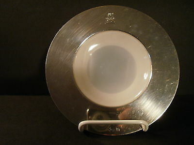 Antique HUKIN & HEATH Sterling Silver Caviar Serving Dish Apethorpe Hall