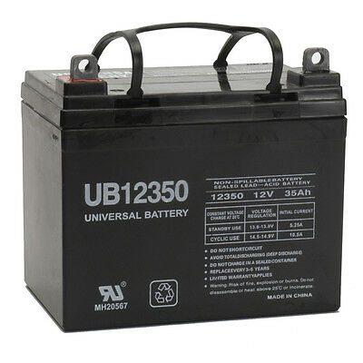 UPG 12V 35AH U1 SLA AGM Battery Scooter Wheelchair Replaces AGM1234T