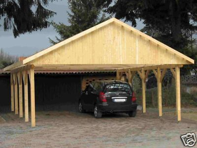 carport doppelcarport bogencarport satteldach holz bogen. Black Bedroom Furniture Sets. Home Design Ideas