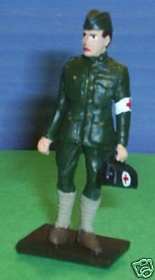 TOY SOLDIERS METAL WWI US ARMY DOCTOR 54MM