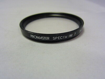 Used PROMASTER SPECTRUM 7 1A 52mm Filter Made in Japan 6312021