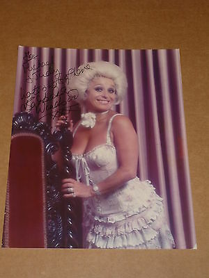 Barbara Windsor (Carry On Films Star) Agency Publicity Photo (Signed)