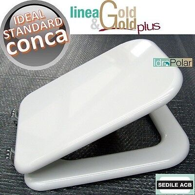 Ideal standard sedile wc colore visone made in italy per for Ideal standard conca visone