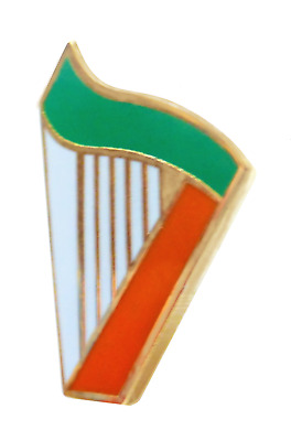 Ireland Irish Harp Flag  Pin Badge - T530