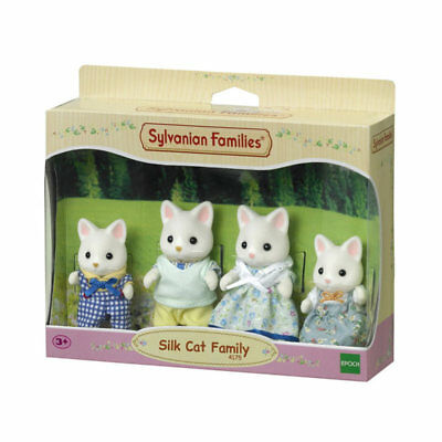 SYLVANIAN Families Silk Cat Family Figures 4175