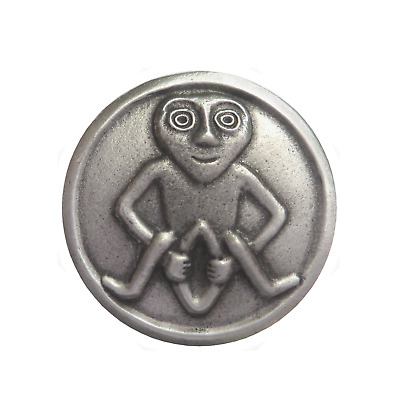 Sheela Na Gig Pewter Brooch Pin Badge
