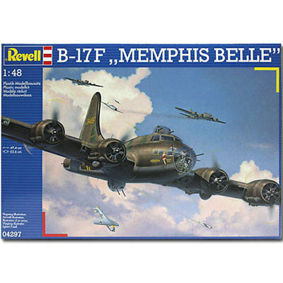 REVELL B-17F Memphis Belle 1:48 Aircraft Model Kit - 04297
