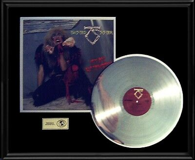 Twisted Sister Stay Hungry Rare Lp Gold Record Platinum Disc Album Frame