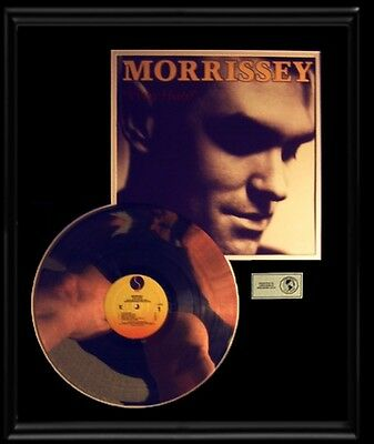 Morrissey Debut Solo First Rare Gold Record Platinum Disc Viva Hate Lp Smiths