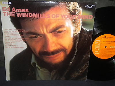 """Ed Ames """"The Windmills of Your Mind"""" LP in Stereo"""