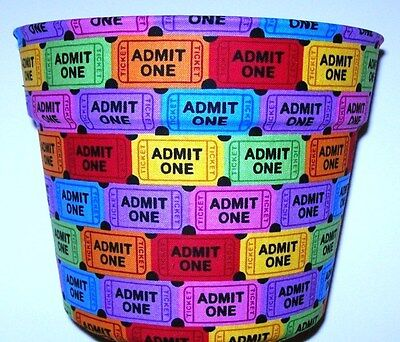 Theatre Show Raffle Tickets Flowerpot Gift Wrap Basket Party Supplies Container