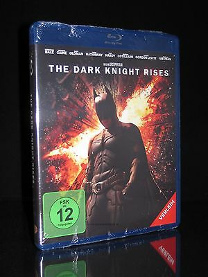 Blu-Ray Batman 3 -The Dark Knight Rises - Christian Bale + Gary Oldman ** Neu **