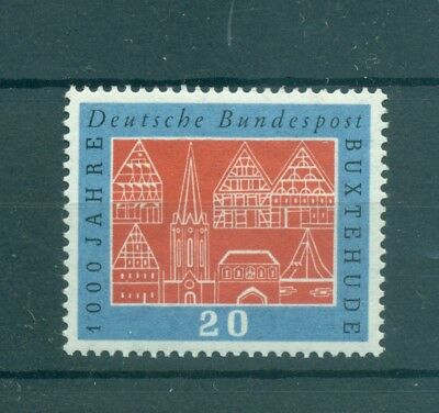 CITTA' STORICHE - HISTORIC CITIES WEST GERMANY BRD 1959  Buxtehude 1000Yrs