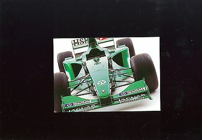 Jaguar Formula 1 Car Postcard