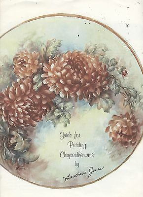 Guide for Painting Chrysanthemums by Barbara Jones china painting study