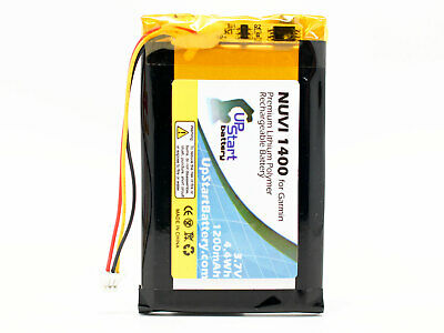Replacement Battery for Garmin Nuvi 1490T, Nuvi 1400, 1460 GPS
