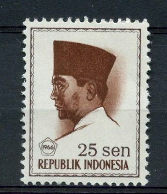Indonesia 1966 SG#1084, 25s President Sukaarno Definitive MNH #A60126