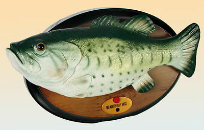 BIG MOUTH BILLY BASS Singing Fish singender Fisch Neu