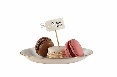 IVORY canape food flags tea party decor Ginger Ray