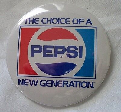 Pepsi New Generation Pin Back