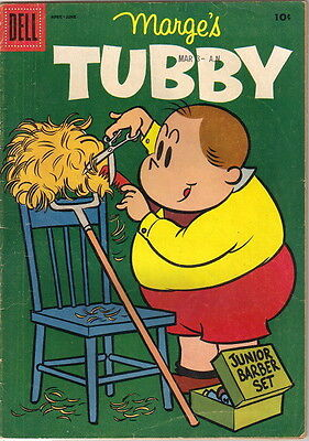 Marge's Tubby Comic Book #16, Little Lulu Dell Comics 1956 VERY GOOD+