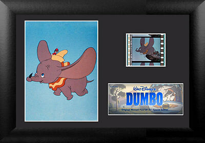 Film Cell Genuine 35mm Framed & Matted Walt Disney Dumbo S1 USFC5720 Special Ed