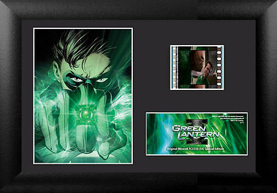 Film Cell Genuine 35mm Framed & Matted Green Lantern Special Edition USFC5550