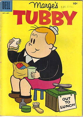 Marge's Tubby Comic Book #24, Little Lulu Dell Comics 1957 FINE-