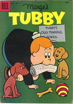 Marge's Tubby Comic Book #25, Little Lulu Dell Comics 1957 FINE-