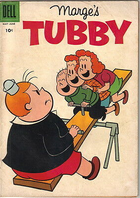 Marge's Tubby Comic Book #28, Little Lulu Dell Comics 1958 VERY GOOD