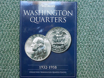 Near Complete Set Of 72 Washington Silver Quarters 1932 -1960 Collection