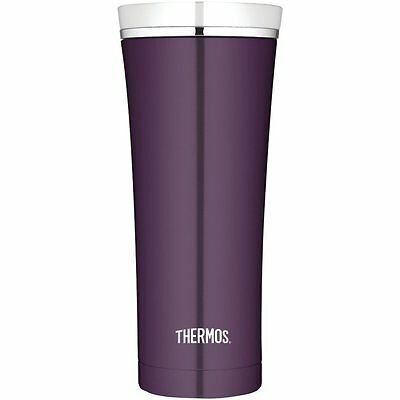 Thermos Discovery Stainless Steel Travel Tumbler 0.47 Litre Plum