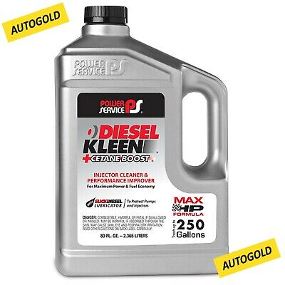 POWER SERVICE DIESEL KLEEN 2,36 Lt ADDITIVO gasolio Professionale - AUTOGOLD