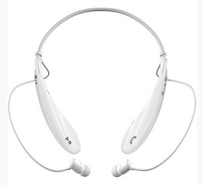 LG Electronics Tone Ultra (HBS-800) Bluetooth Stereo Headset (White)