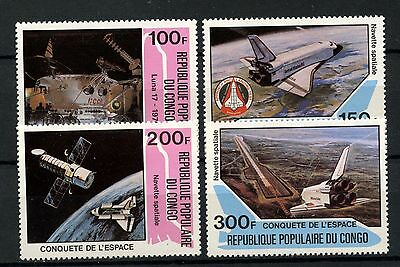 Congo 1981 SG#796-9 Conquest Of Space MNH Set #A59850