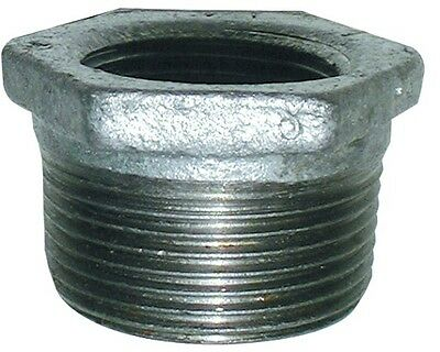 "Galvanised BSP Reducing Bush M/F Fitting, From 1 1/4"" x 1/2"" up to 2"" x 1 1 1/2"""