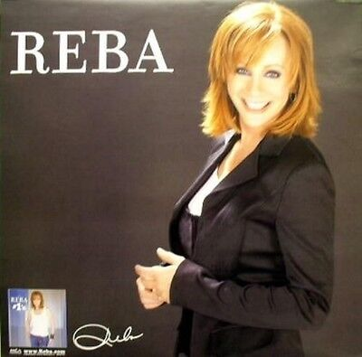 Reba McEntire 2005 #1's BIG promotional poster ~FLAWLESS cond. NEW old stock~!!