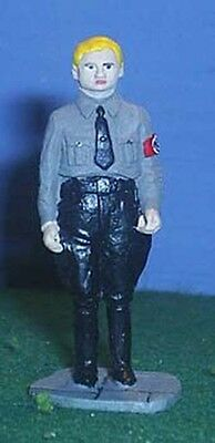TOY SOLDIERS METAL GERMANY WORLD WAR  WWII GERMAN SOLDIER 54MM